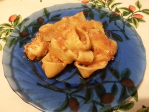 calamarata in forno